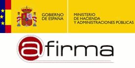 Logo Autofirma Ministerio de Hacienda y Administraciones Públicas